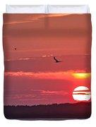 Chesapeake Sunset 1 Duvet Cover