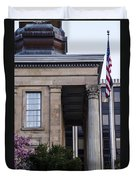 Chester County Court House-side View Duvet Cover