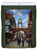 Chester Eastgate Clock Duvet Cover