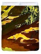 Chestnut Abstract Duvet Cover