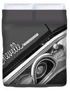 Chevrolet Chevelle Ss Taillight Emblem Duvet Cover