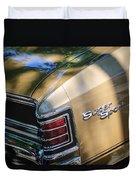 Chevrolet Chevelle Ss Taillight Emblems Duvet Cover