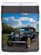 Chevrolet Confederate Ba Phaeton 1932 Duvet Cover