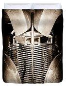 Chevrolet Grille Duvet Cover