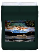 Chevrolet Picking Duvet Cover