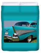 Chevy 1957 Bel Air Duvet Cover