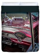 Chevy Bel Air Dash Duvet Cover