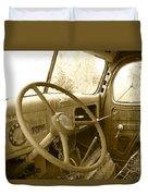 Chevy Cab  Duvet Cover