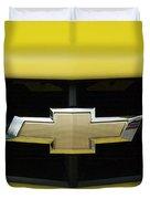 Chevy Camero Emblem 01 Duvet Cover
