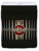 Chevy Emblem Duvet Cover by Paul Freidlund