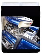 Chevy Hot Rod Engine Duvet Cover