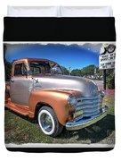 Chevy Pickup Duvet Cover