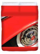1955 Chevy Rim Duvet Cover