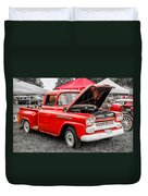 Chevy Stock Duvet Cover