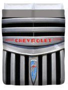 Chevy Truck Grill Duvet Cover