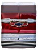 Chevy Truck Logo Vintage Duvet Cover