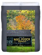 Chew Mail Pouch 2 Duvet Cover