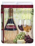 Chianti And Friends 2 Duvet Cover by Debbie DeWitt