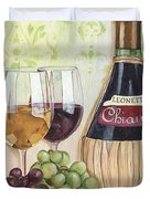 Chianti And Friends Duvet Cover by Debbie DeWitt