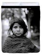 Chiapas Girl Duvet Cover