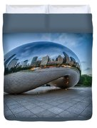 Chicago - Cloudgate Reflections Duvet Cover