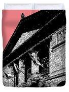 Chicago Art Institute Of Chicago - Light Red Duvet Cover