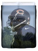 Chicago Bears Bourbonnais Il Summer Home Duvet Cover