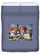 Chicago Bears P Patrick O'donnell Training Camp 2014 Photo Art 02 Duvet Cover