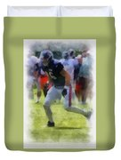 Chicago Bears Te Zach Miller Training Camp 2014 Pa 01 Duvet Cover