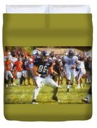 Chicago Bears Te Zach Miller Training Camp 2014 Pa 02 Duvet Cover