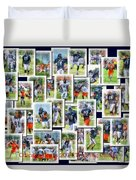 Chicago Bears Training Camp 2014 Collage Pa 01 Duvet Cover