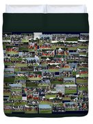 Chicago Bears Training Camp 2014 Collage The Players Duvet Cover
