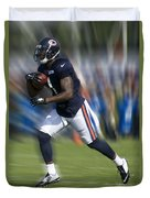Chicago Bears Training Camp 2014 Moving The Ball 03 Duvet Cover