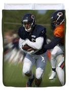 Chicago Bears Training Camp 2014 Moving The Ball 05 Duvet Cover