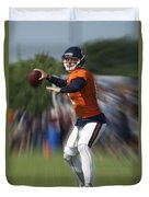 Chicago Bears Training Camp 2014 Moving The Ball 06 Duvet Cover