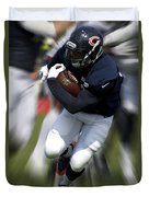 Chicago Bears Training Camp 2014 Moving The Ball 07 Duvet Cover