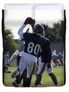 Chicago Bears Wr Armanti Edwards Training Camp 2014 04 Duvet Cover