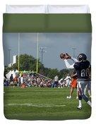 Chicago Bears Wr Armanti Edwards Training Camp 2014 08 Duvet Cover