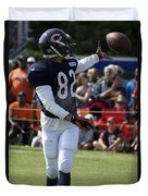Chicago Bears Wr Chris Williams Training Camp 2014 04 Duvet Cover