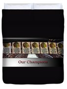 Chicago Blackhawks Our Champions Sb Duvet Cover