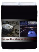 Chicago Blackhawks Please Stand 2 Panel Sb Duvet Cover