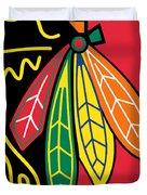 Chicago Blackhawks Duvet Cover