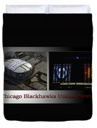Chicago Blackhawks United Center 2 Panel Sb Duvet Cover