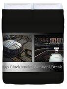 Chicago Blackhawks Zamboni Break Time 2 Panel Sb Duvet Cover