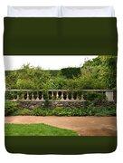 Chicago Botanic Garden Scene Duvet Cover