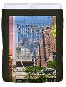 Chicago Buildings Duvet Cover