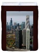 Chicago Harbor Point Duvet Cover