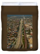 Chicago Highways 01 Duvet Cover