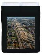 Chicago Highways 02 Duvet Cover