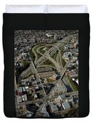 Chicago Highways 04 Duvet Cover